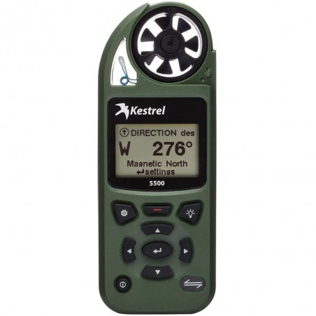Kestrel 5500 Weather Meter + Vane Mount