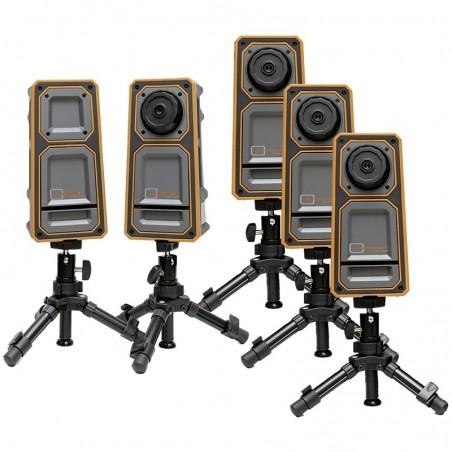 LR-3 with 3 extra cameras